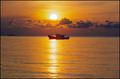 Fishing Boat & Sunset