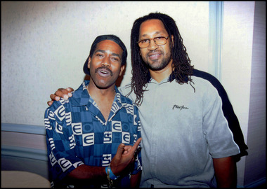 Kurtis Blow and Kool Herc