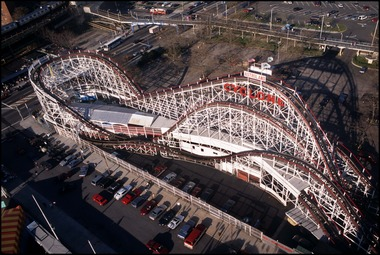 The Cyclone Rollercoaster