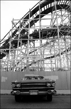 Car & Cyclone Rollercoaster