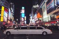 Stretch Limo at Times Square