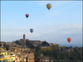 Balloons over Siena