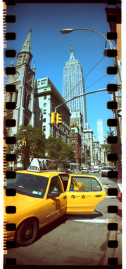 Empire State Building & Taxi