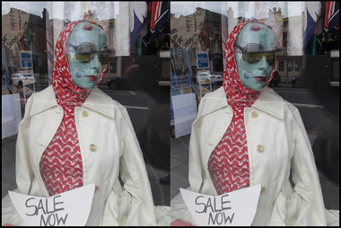 Holloway Road Vintage Shop Window 3D