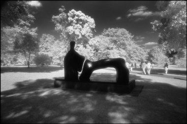Henry Moore Statue