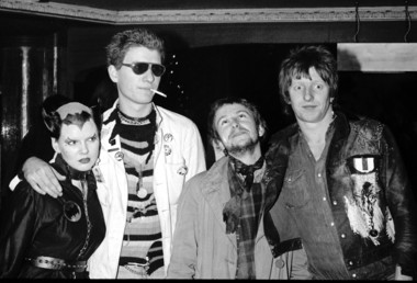 Cat Woman, Captain Sensible, Wreckless Eric & Rat Scabies