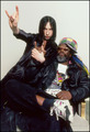 Bobby Gillespie of Primal Scream & George Clinton