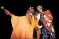 Bootsy Collins (r) & George Clinton (l)