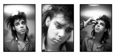 Nick Cave triptych