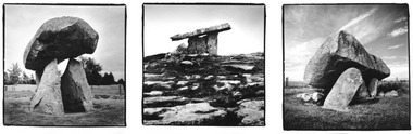 Irish Dolmens triptych 02