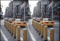 NYC Taxis at 23rd St Y 5th Ave, NYC