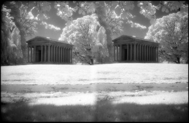 Woodlawn Cemetery Infra Red