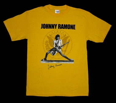 Johnny Ramone tee shirt