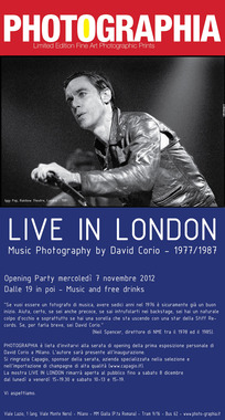 'Live in London' Exhibition in Milan