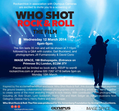 Who Shot Rock & Roll Film & Talk