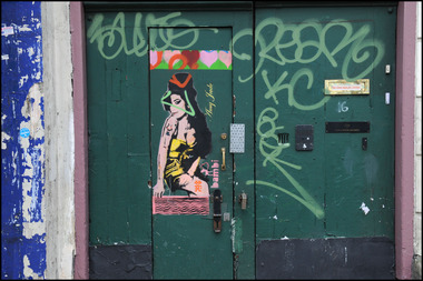Amy Winehouse Murals