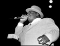 Notorious B.I.G. / Biggie Smalls hologram performing live